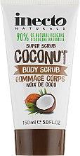 Духи, Парфюмерия, косметика Разглаживающий скраб для тела с маслом кокоса - Inecto Naturals Coconut Body Scrub