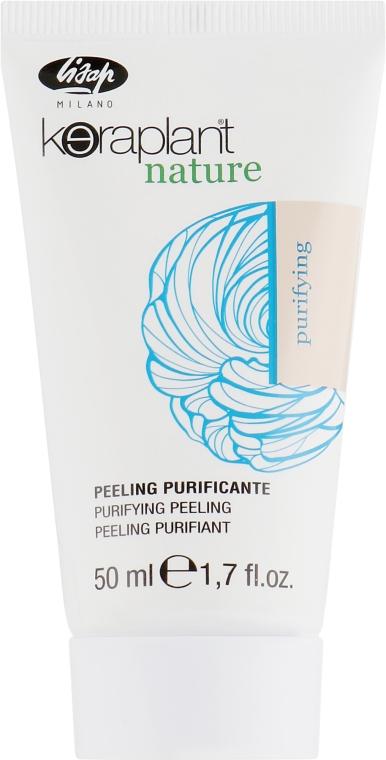Пилинг от сухой перхоти - Lisap Keraplant Nature Anti-Dandruff Peeling