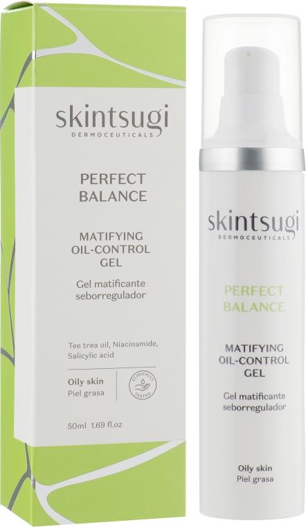 Матирующий гель для лица - Skintsugi Perfect Balance Matifying Oil-Control Gel