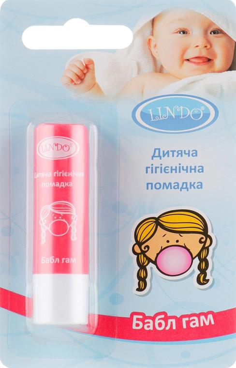 "Гигиеническая помада ""Bubble Gum"" - Lindo"
