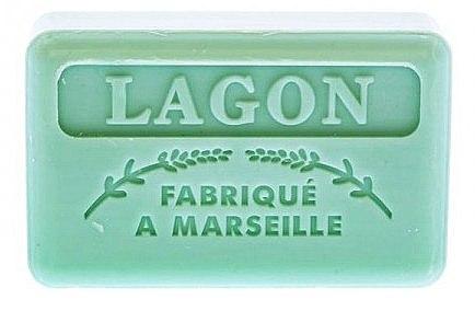 """Марсельское мыло """"Лагуна"""" - Foufour Savonnette Marseillaise Lagon — фото N1"""