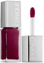 """Духи, Парфюмерия, косметика Лак для губ """"Интенсивный цвет и уход"""" - Clinique Pop Lacquer Lip Colour + Primer"""