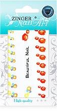 Духи, Парфюмерия, косметика Наклейки для дизайна ногтей, fda-6 - Zinger Nail Art Sticker 106