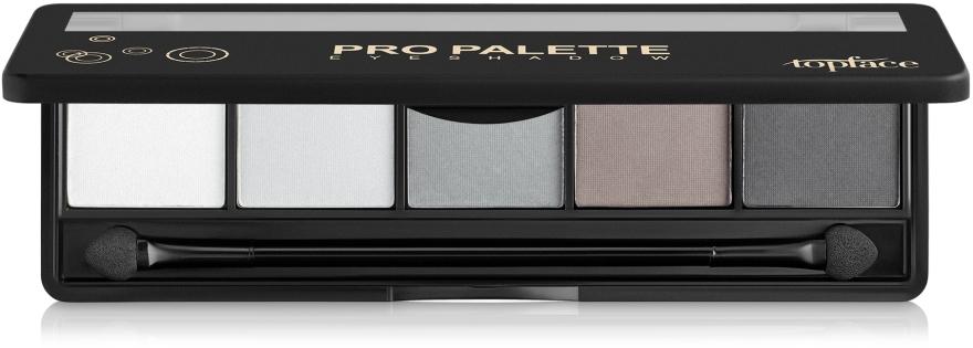 Палитра теней для век - Topface Pro Palette Eyeshadow