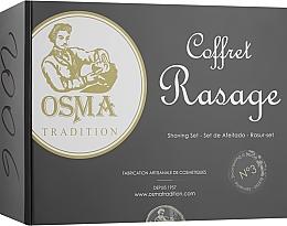 Духи, Парфюмерия, косметика Набор для ухода за бородой - Osma Tradition No.3 (beard/oil/50 ml + beard/shm 200 ml + towel)