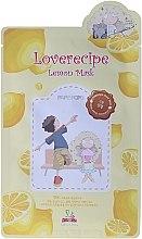 Духи, Парфюмерия, косметика Тканевая маска для лица с экстрактом лимона - Sally's Box Loverecipe Lemon Mask
