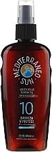 Духи, Парфюмерия, косметика Масло для загара - Mediterraneo Sun Coconut Suntan Oil SPF10