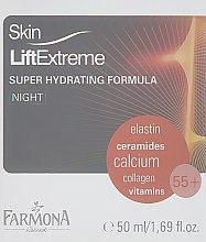 Духи, Парфюмерия, косметика Крем ночной с эффектом лифтинга корректирующий 55+ - Farmona Skin Lift Extreme 55+
