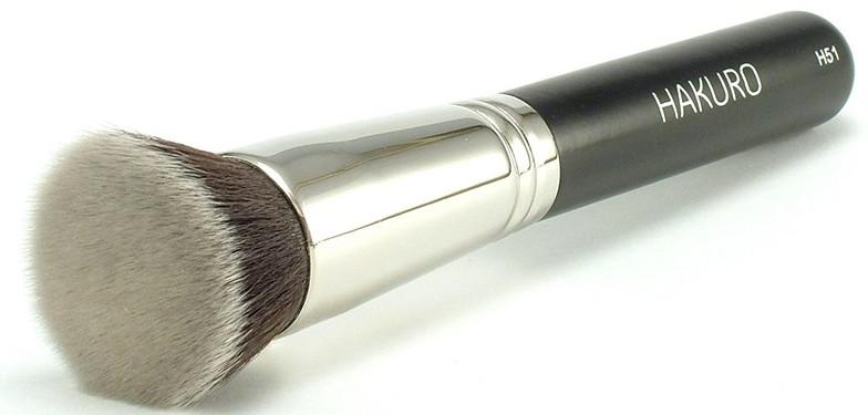 Кисть для основы и пудры, H51 - Hakuro Professional
