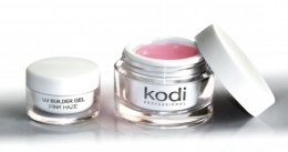 Духи, Парфюмерия, косметика Прозрачно-розовый конструирующий гель - Kodi Professional UV Builder Gel Pink Haze