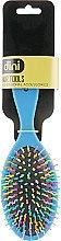 Духи, Парфюмерия, косметика Щетка массажная, овальная цветная d-482, синяя - Dini