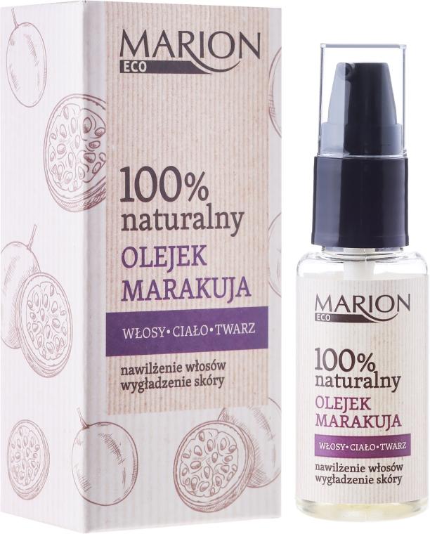 Масло для волос, тела и лица из маракуйи - Marion Eco Oil