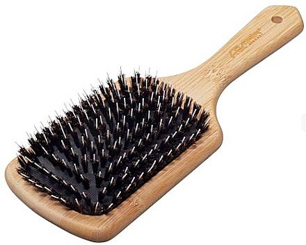 Щетка для волос 10-рядная, с комбинированой щетоной - Comair Bamboo-Line