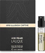 Духи, Парфюмерия, косметика Lalique Illusion Captive - Парфюмированная вода (пробник)