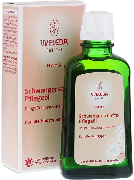 Масло для профилактики растяжек - Weleda Schwangerschafts-Pflegeol
