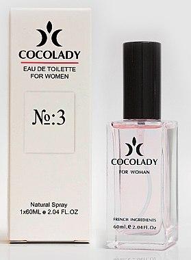 Cocolady №3 - Туалетная вода