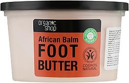 """Духи, Парфюмерия, косметика Масло для ног """"Африканский бальзам"""" - Organic Shop Organic Rooibos & 7 Oils Foot Butter"""