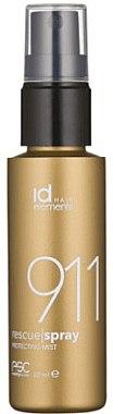 Защитный спрей для окрашенных волос - idHair Gold 911 Rescue Spray