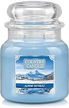 Парфумерія, косметика Ароматична свічка в банці - Country Candle Alpine Retreat
