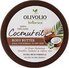 "Духи, Парфюмерия, косметика Масло для тела ""Кокосовое масло"" - Olivolio Coconut Oil Body Butter"