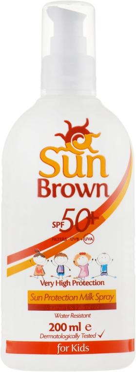 Солнцезащитное молочко для детей - Dalan Sun Brown Milk