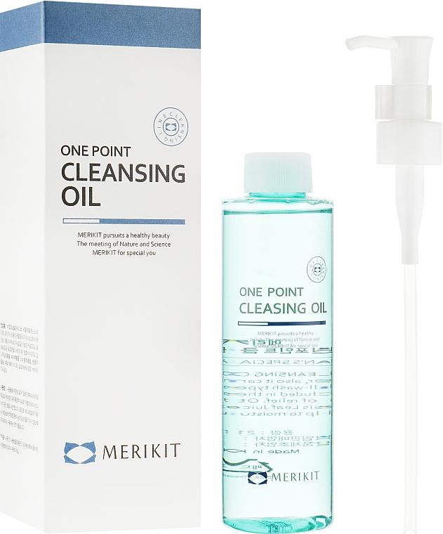 Гидрофильное масло - Merikit One Point Cleansing Oil
