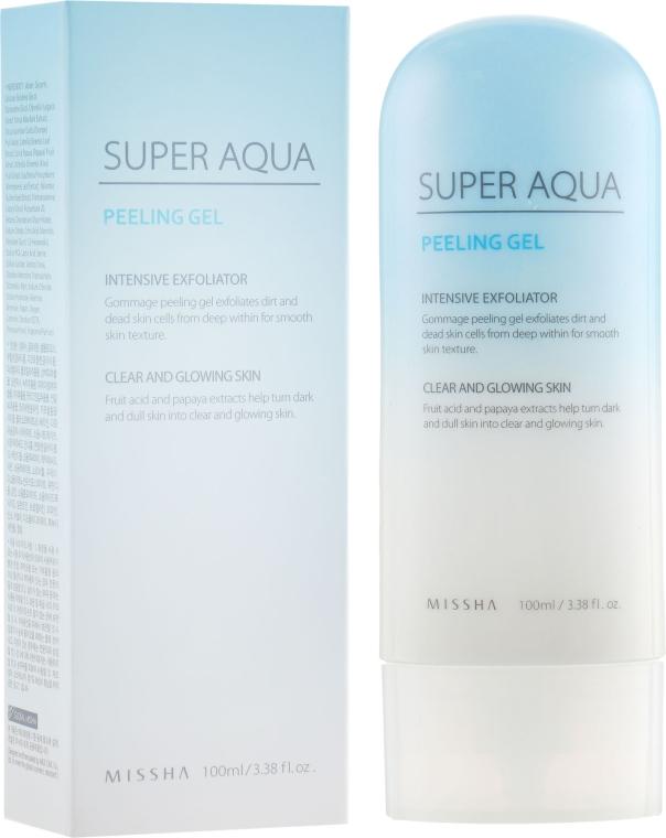 Пилинг-скатка для лица - Missha Super Aqua Peeling Gel