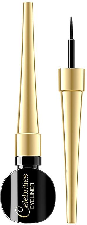 Подводка для глаз - Eveline Cosmetics Celebrities Eyeliner