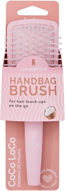 Массажная щетка для волос - Lee Stafford Hanbag Brush Coco Loco