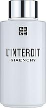 Духи, Парфюмерия, косметика Givenchy L'Interdit Eau de Parfum - Масло для ванны и душа (тестер с крышечкой)