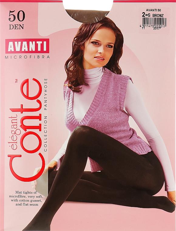 "Колготки ""Avanti"" 50 Den, bronz - Conte"