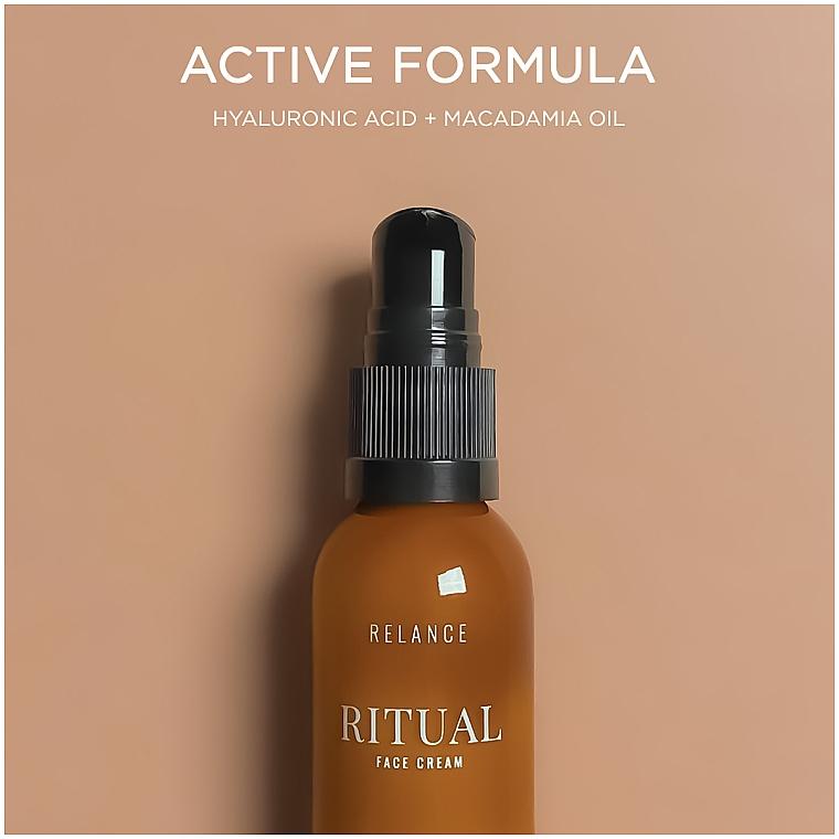 Крем для лица увлажняющий с гиалуроновой кислотой и маслом макадамии - Relance Hyaluronic Acid +Macadamia Oil Face Cream — фото N2