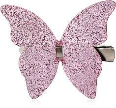 Духи, Парфюмерия, косметика Заколка для волос d-269, розовая бабочка - Dini Hand Made