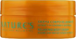 Духи, Парфюмерия, косметика Расслабляющий крем для тела - Nature's Fiori di Zenzero Relaxing Body Cream