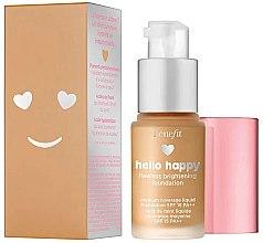 Духи, Парфюмерия, косметика Тональная основа - Benefit Hello Happy Flawless Foundation (мини)