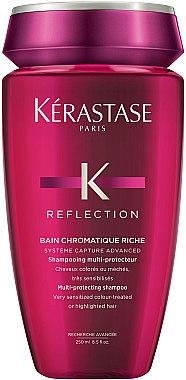 Шампунь для чувствительных окрашенных или мелированных волос - Kerastase Reflection Bain Chromatique Riche