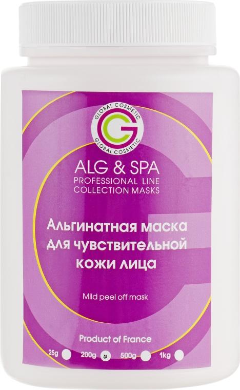 Альгинатная маска для чувствительной кожи лица - ALG & SPA Professional Line Collection Masks Mild Peel off Mask