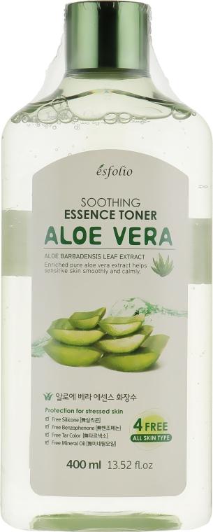 Тонер с алоэ - Esfolio Aloe Vera Soothing Essence Toner