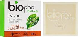 Духи, Парфюмерия, косметика Натуральное мыло с аргановым маслом - Biopha Organic Soap Organic Argan Oil