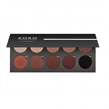 Палетка теней для век - Kobo Professional 10X Eyeshadow Palette