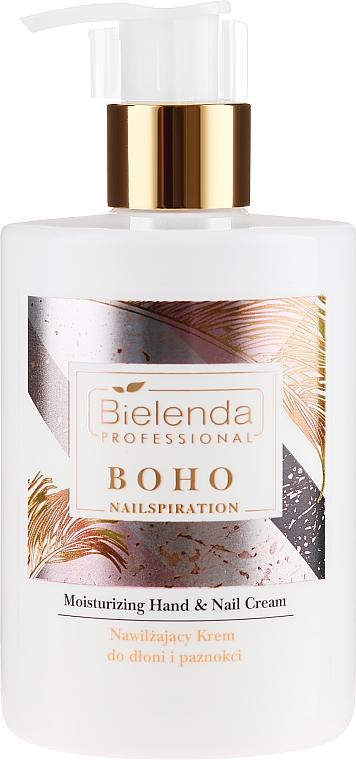 Крем для рук и ногтей увлажняющий - Bielenda Professional Nailspiration Boho Moisturising Hand & Nail Cream