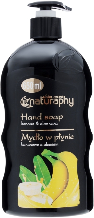 Жидкое мыло с экстрактом банана - Bluxcosmetics Naturaphy Hand Soap