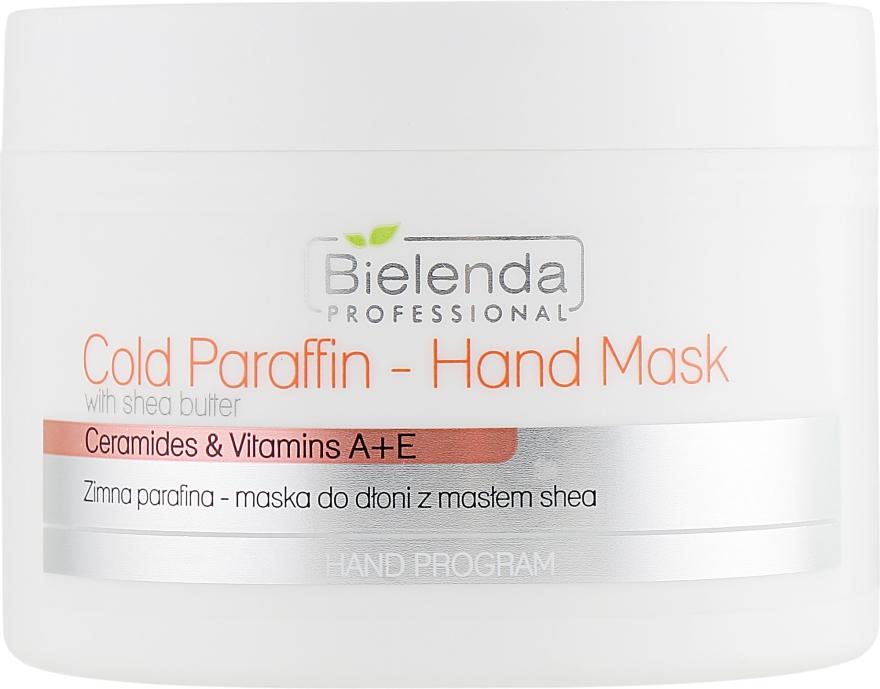 Холодная парафиновая маска для рук с экстрактом масла Ши - Bielenda Professional Cold Paraffin Hand Mask With Shea Butter