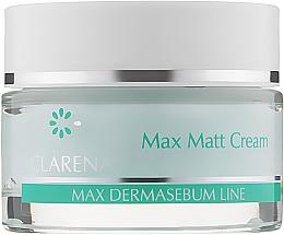 Духи, Парфюмерия, косметика Матирующий крем для лица - Clarena DermaSebum Line Max Matt Cream