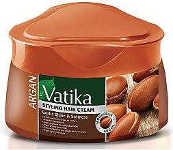Крем для волос с маслом арганы - Dabur Vatika Argan Styling Hair Cream — фото N1
