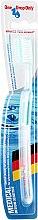 Духи, Парфюмерия, косметика Зубная щётка средней степени жесткости, бирюзовая - One Drop Only Medical