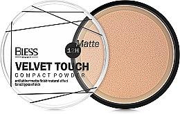 Компактная пудра для лица - Bless Beauty Velvet Touch Compact Powder — фото N2