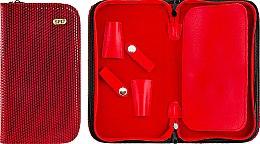 Духи, Парфюмерия, косметика Футляр для парикмахерских инструментов, 77406, красный лакированный - SPL