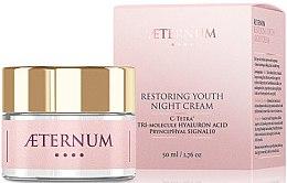 Духи, Парфюмерия, косметика Ночной восстанавливающий крем для лица - Aeternum Restoring Youth Night Cream