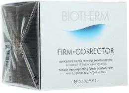 Духи, Парфюмерия, косметика Укрепляющий концентрат для тела - Biotherm Firm Corrector Tensor Recompacting Body Concentrate